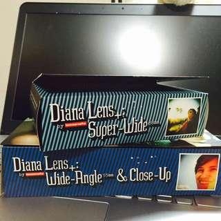 LOMO Diana F+ 38mm、55mm鏡頭