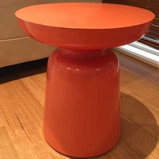 Bedside Table - Orange