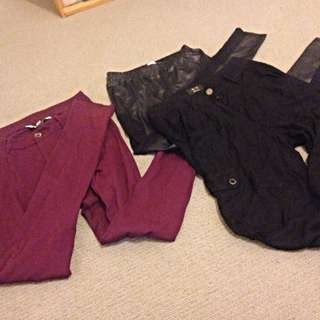 Jeans Bundle Size 8, Small And 6