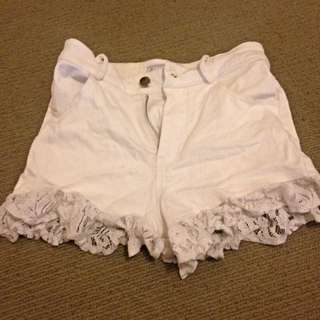 High Waisted Shorts Size S, Elevenraindrops Brand