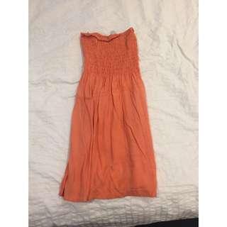 STRAPLESS DRESS 💃🏽