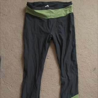 Kmart 3/4 Activewear Leggings Size 12