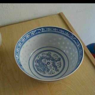 古董米粒碗