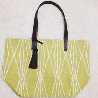 Yellowish Tote Bag