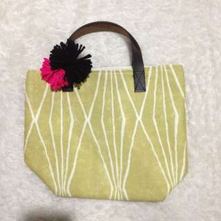 Yellowish Small Tote Bag