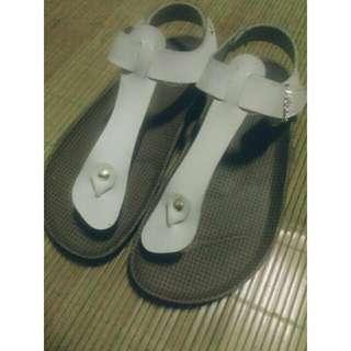 夏天鑲鑽涼鞋💕