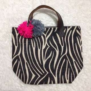 Zebra Small Tote Bag