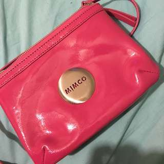 Pink Mimco Secret Couch