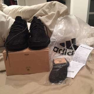 Adidas Yeezy Boost 350 Pirate Black Size 13