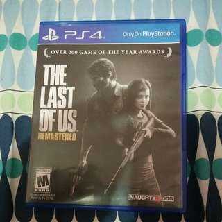 The Last Of Us Remastered PS4 (Reserved)