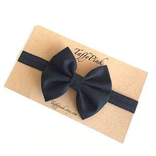 Black Baby Headband - Handmade!