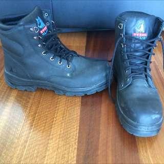 Steel Blue Steel Toecap Boots
