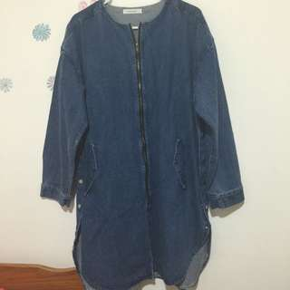 Demin Long Jacket Women OSFA