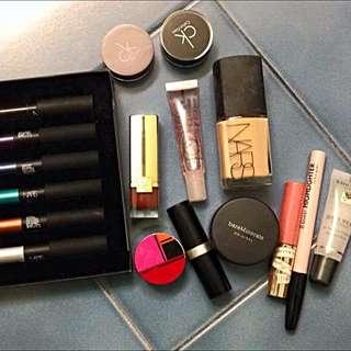 Miscellaneous Bulk Makeup Incl. NARS, Estée Lauder, Bareminerals