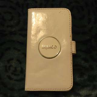 White Mimco Tech Case 6/6s