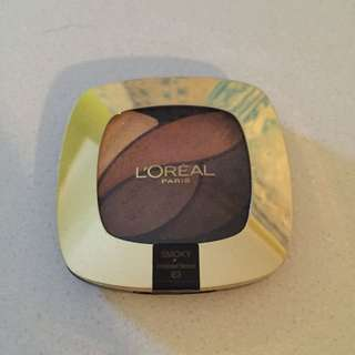 Loreal Eyeshadow Palette Slightly Used