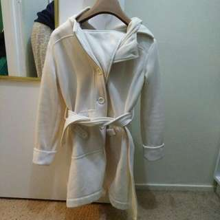 Lovely White Coat