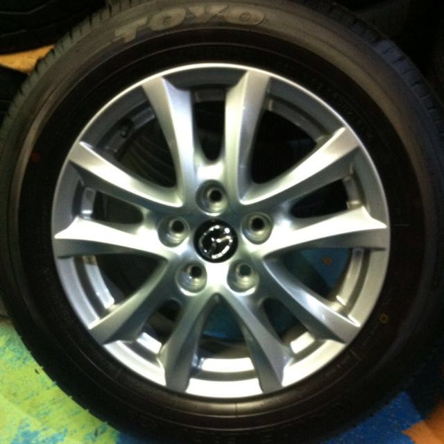 Mazda 3 Rims >> Mazda 3 2016 Original 16 Rims Car Accessories On Carousell
