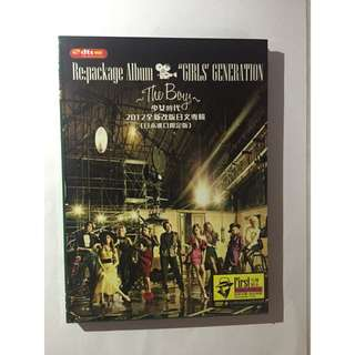 UNOFFICIAL SNSD REPACKAGED THE BOYS CD