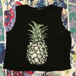 Pineapple Muscle Tee
