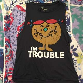 I'm Trouble Muscle Tee