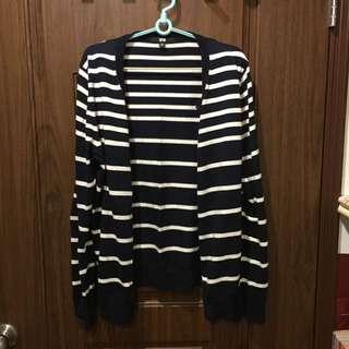UQ 條紋薄外套