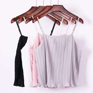 FREE POSTAGE Grey Pleated Top