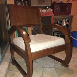 Vintage Teak wood Single Seater