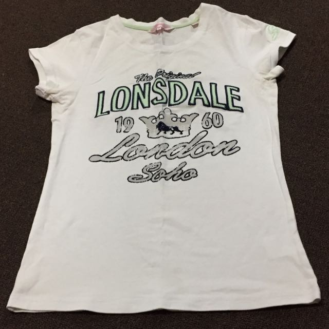 2 x Lonsdale Shirts