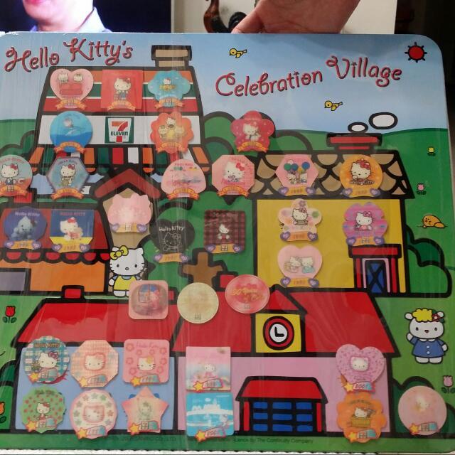 7-11 Hello Kitty 週年3D磁鐵