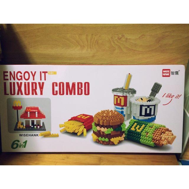 (現貨)麥當勞六合一積木