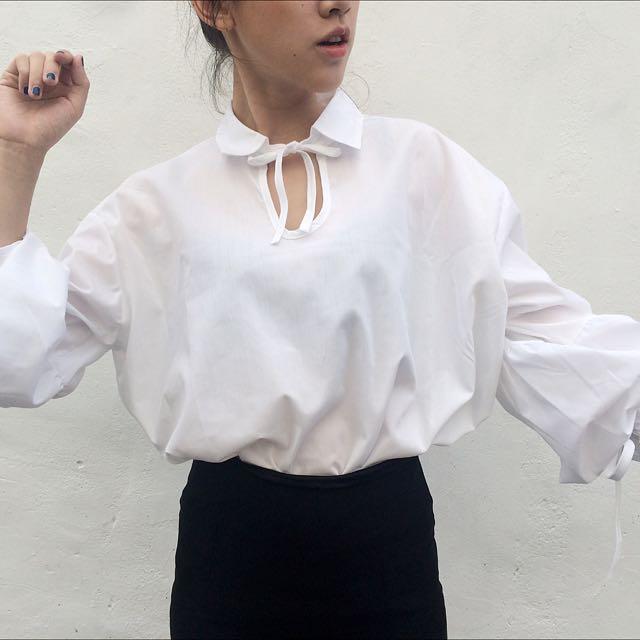 『 燈籠袖造型衫 』
