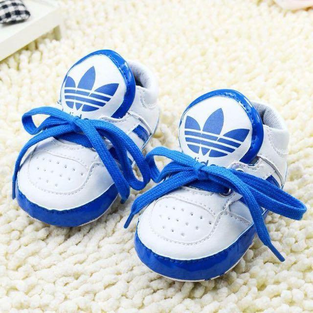 Adidas Lace Up Shoes ( Blue & White)