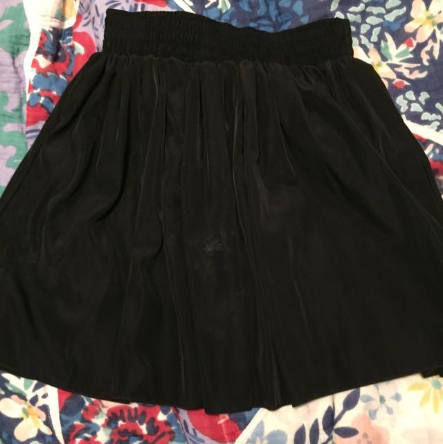 American Apparel Black Skirt