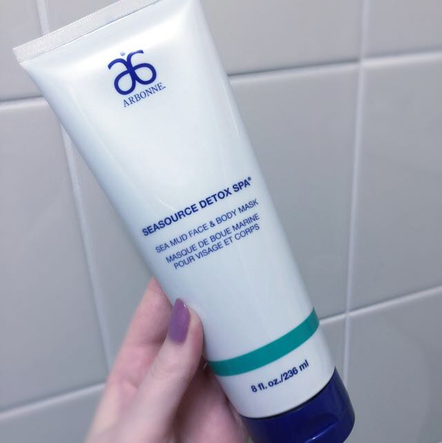 Arbonne Sea Mud Face/Body Mask (vegan)