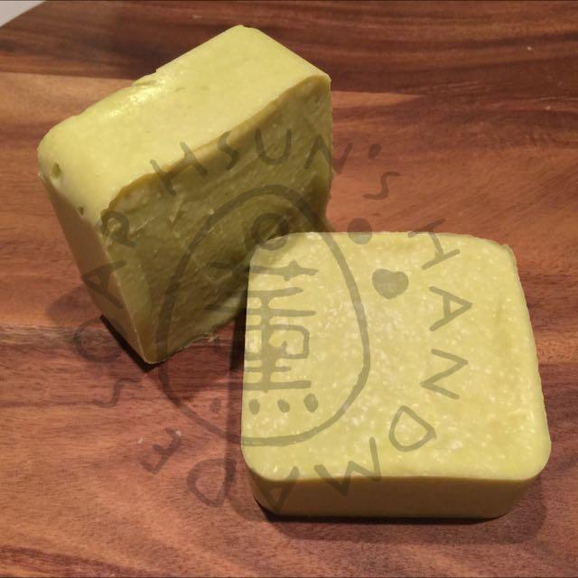 [Avocado Sea Salt Hair Soap] 100% Naturally Handmade