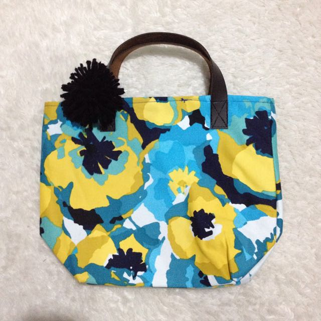 Blue Tosca Small Tote Bag