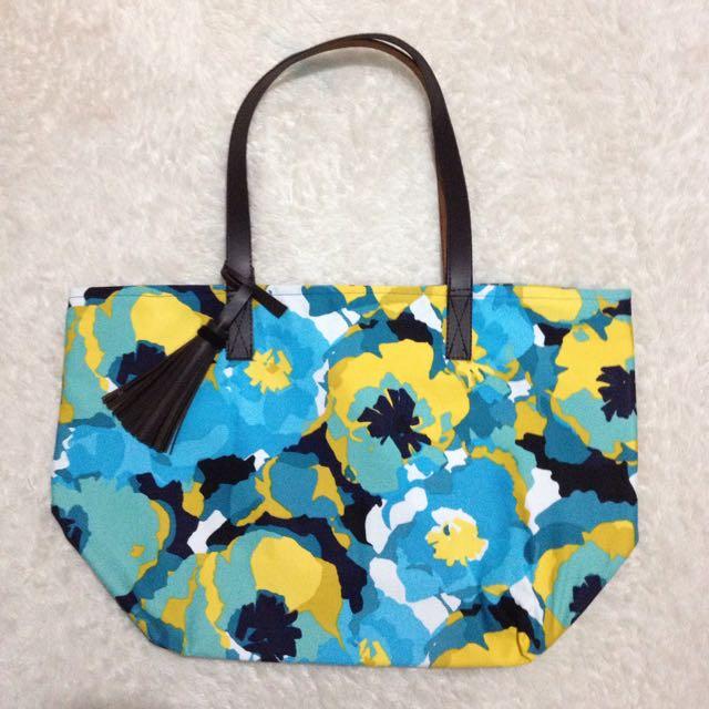 Blue Tosca Tote Bag