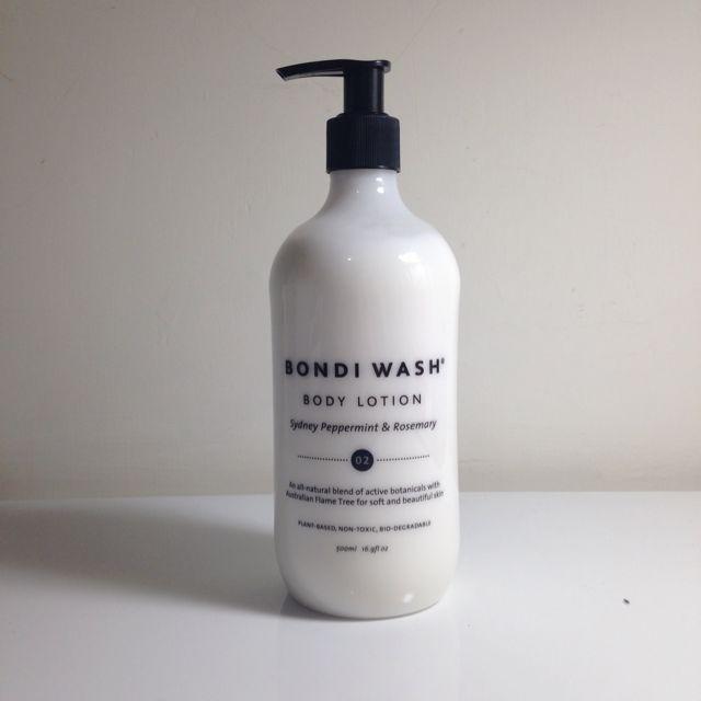 澳洲有機保養品牌Bondi Wash 雪梨薄荷&迷迭香身體乳500ml
