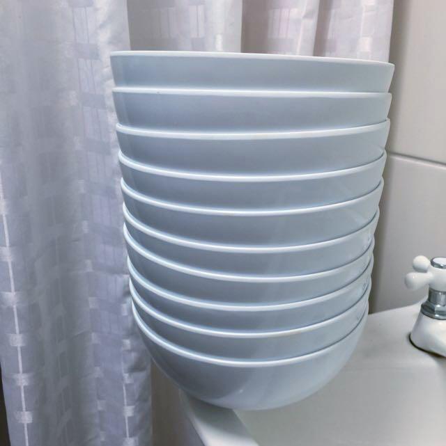 Bowls x10 Melamine