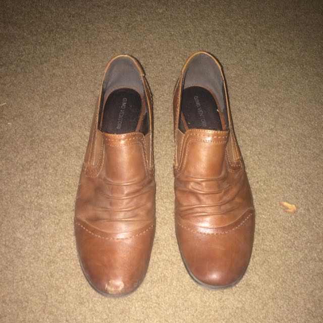 Brown Leather Women's Shoes