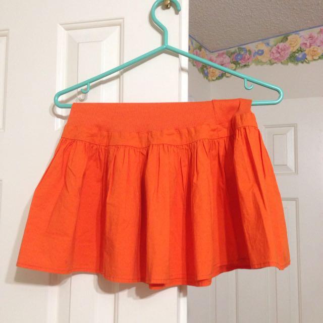 Buffalo Orange Skirt