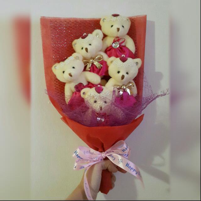 Buket Boneka Kado Ulang Tahun Kado Anniversary Boneka Women S