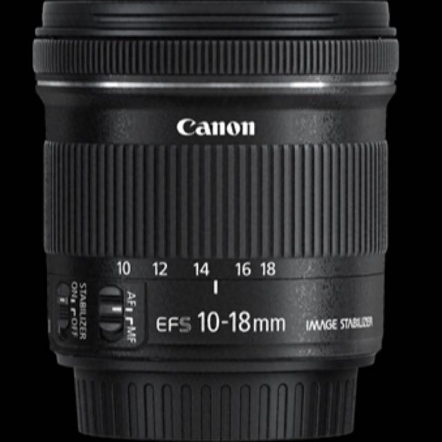 Canon Efs 10-18mm