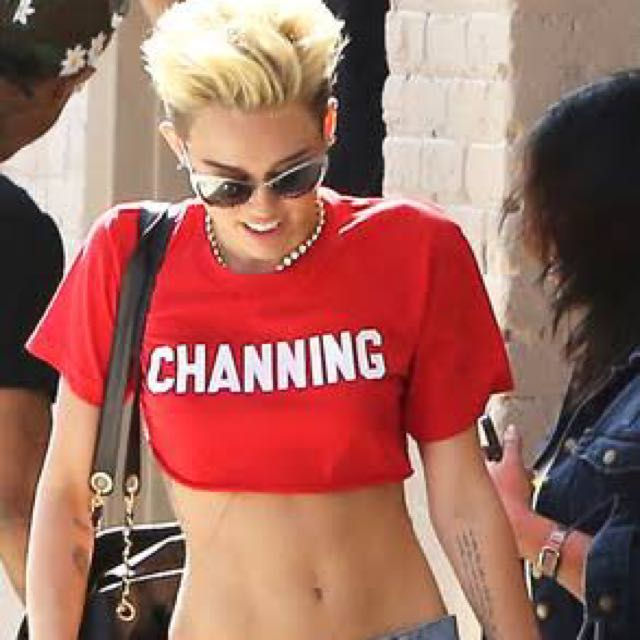 'CHANNING' Crop Top - White
