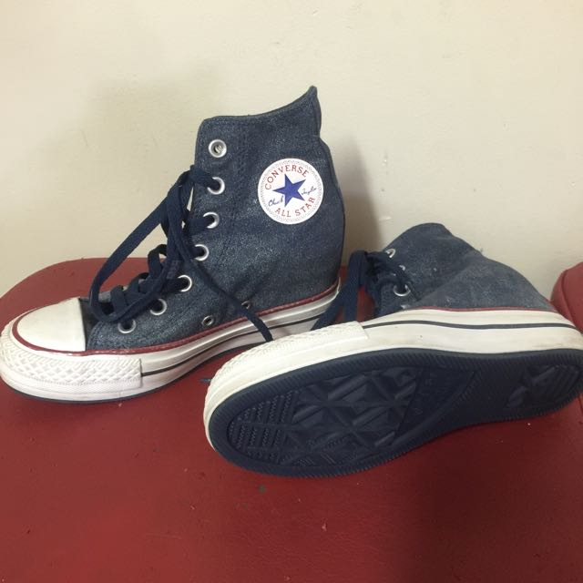 Converse High Top Platform Shoes