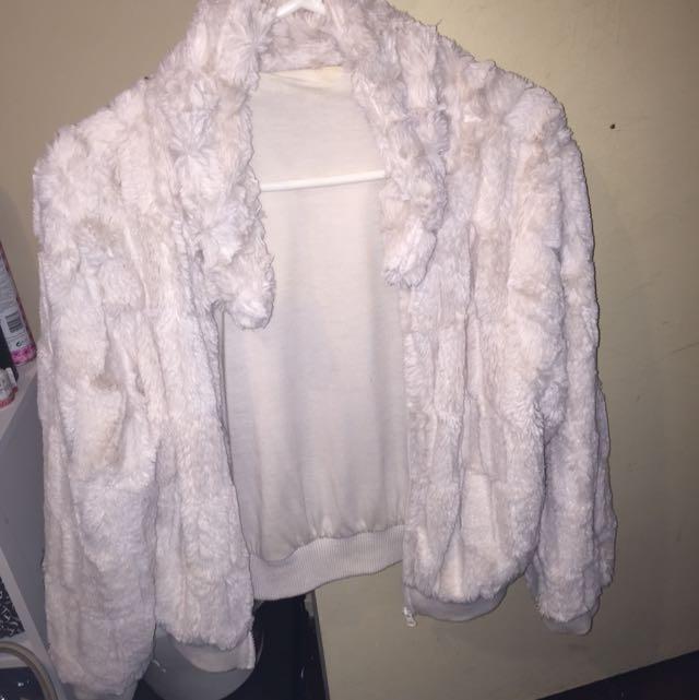 (Fake)Fur Jacket