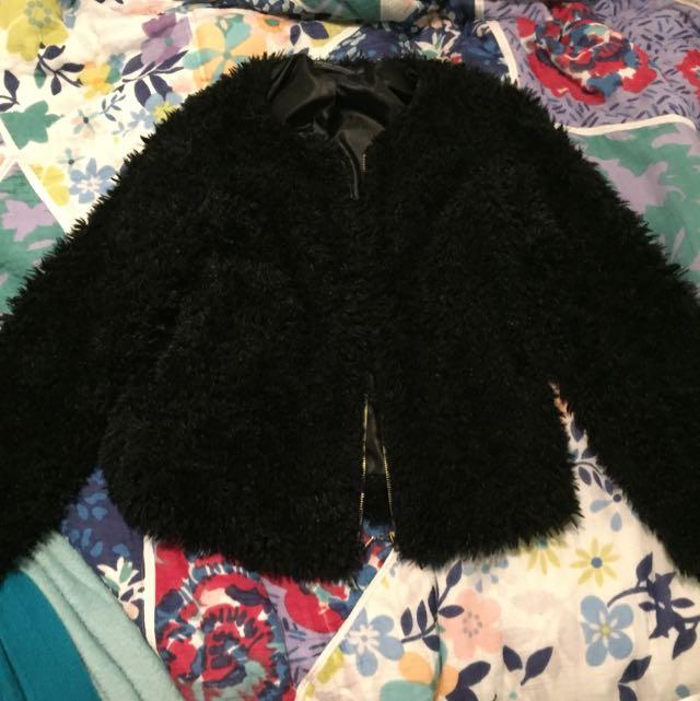 Fluffy Winter Jacket