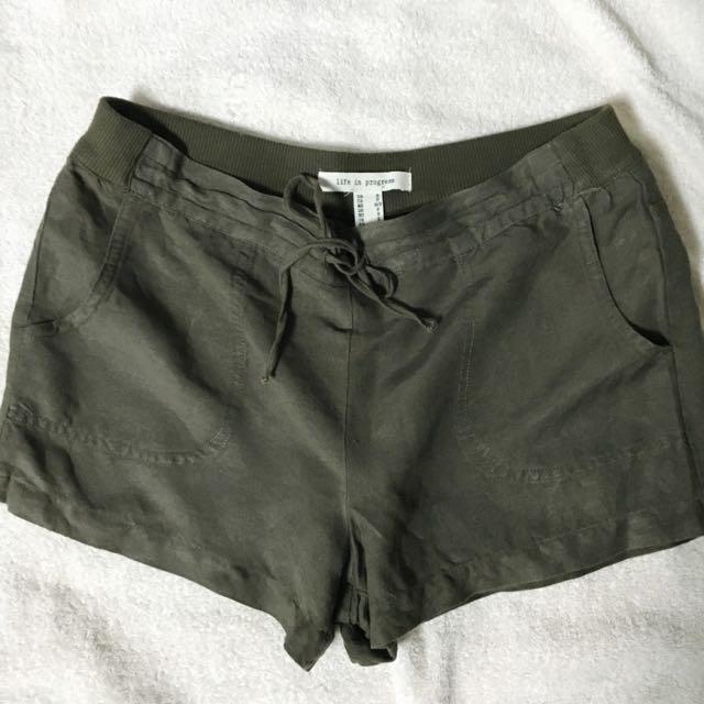 Forever21 休閒 短褲 綠