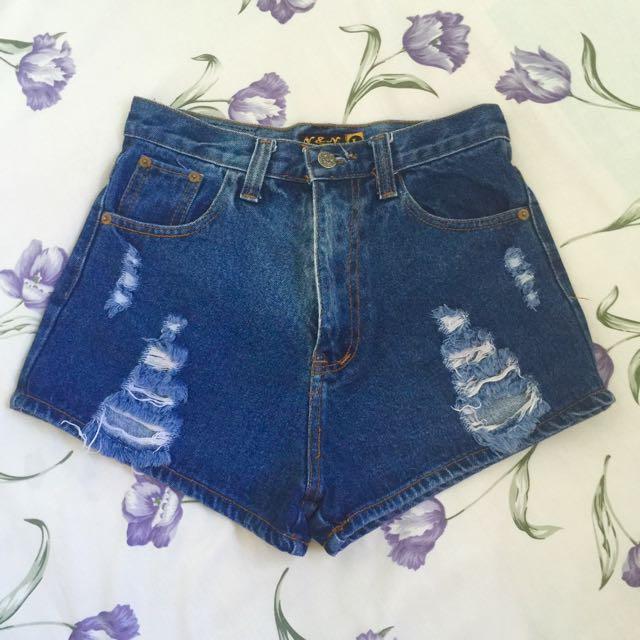 high waist short bkk